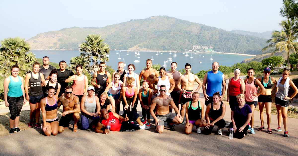 Muay Thai, MMA & Fitness training Camp Phuket Thailand