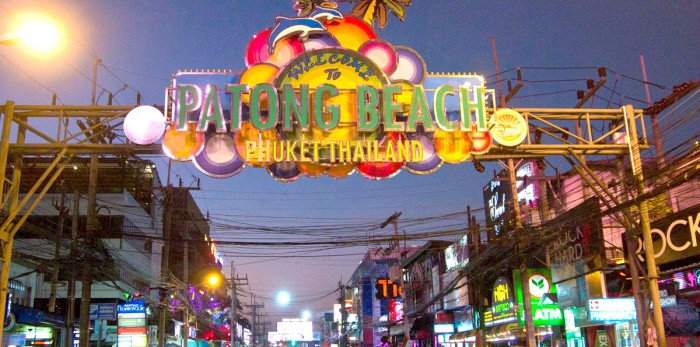 Bangla Road, in the heart of Patong