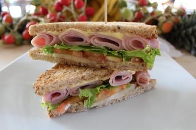 A Classic, the Ham & Cheese Sammy