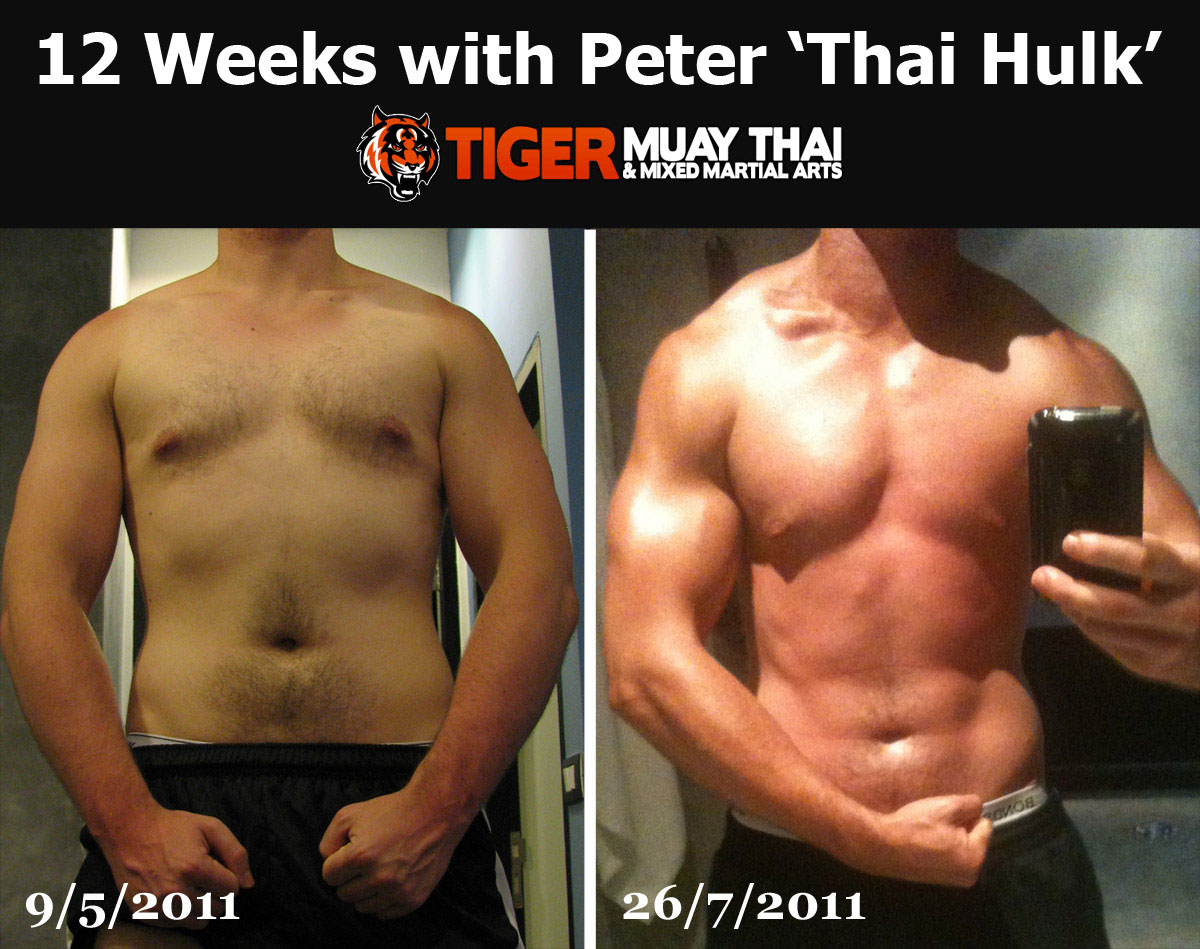 "Before and After: Training with the ""Thai Hulk ..."