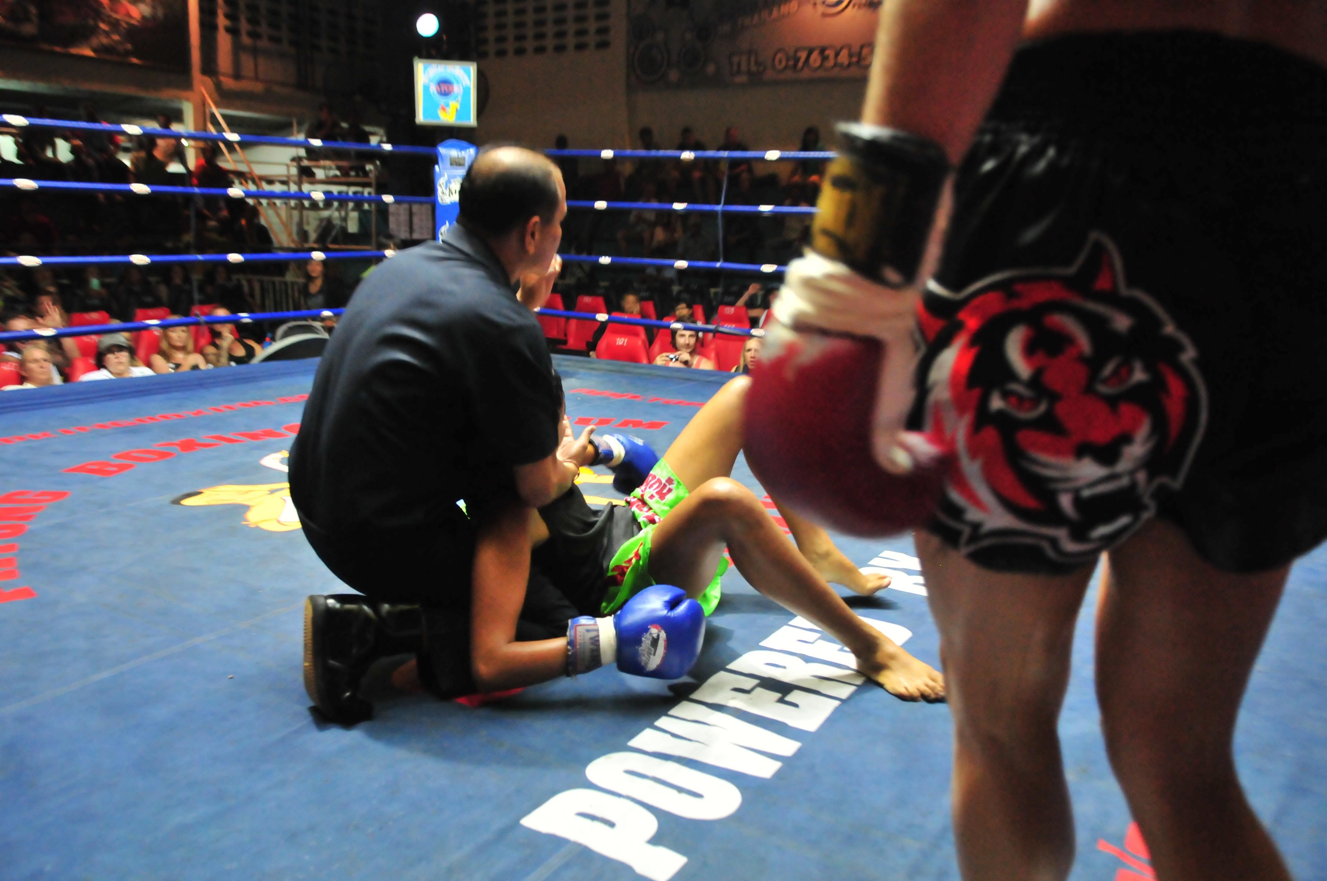 KO Win for #1 Ranked MMA Fighter Cat Zingano in Muay Thai