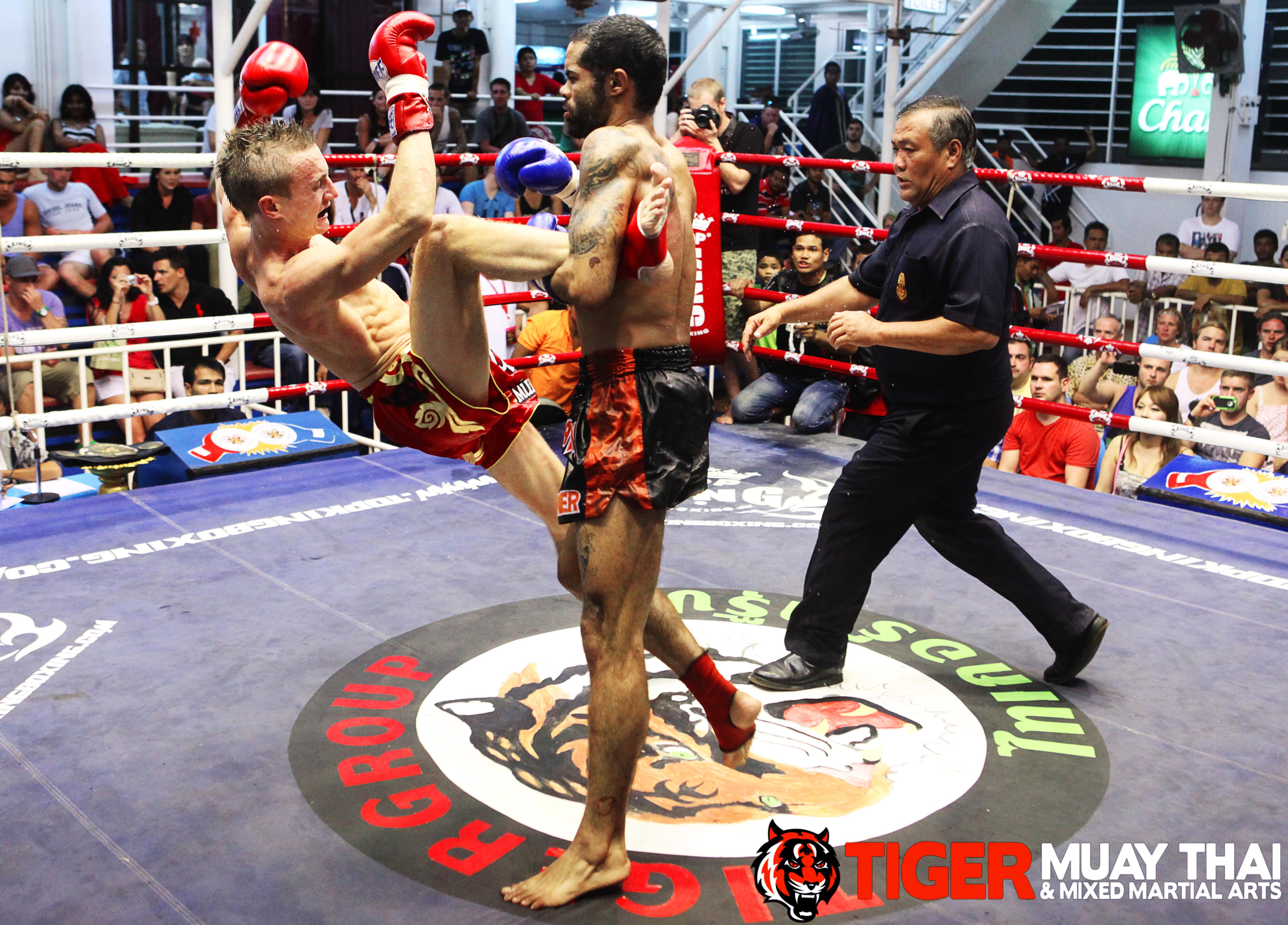 TMT Fighter Marcel Gaines wins Bangla Stadium Belt - Tiger
