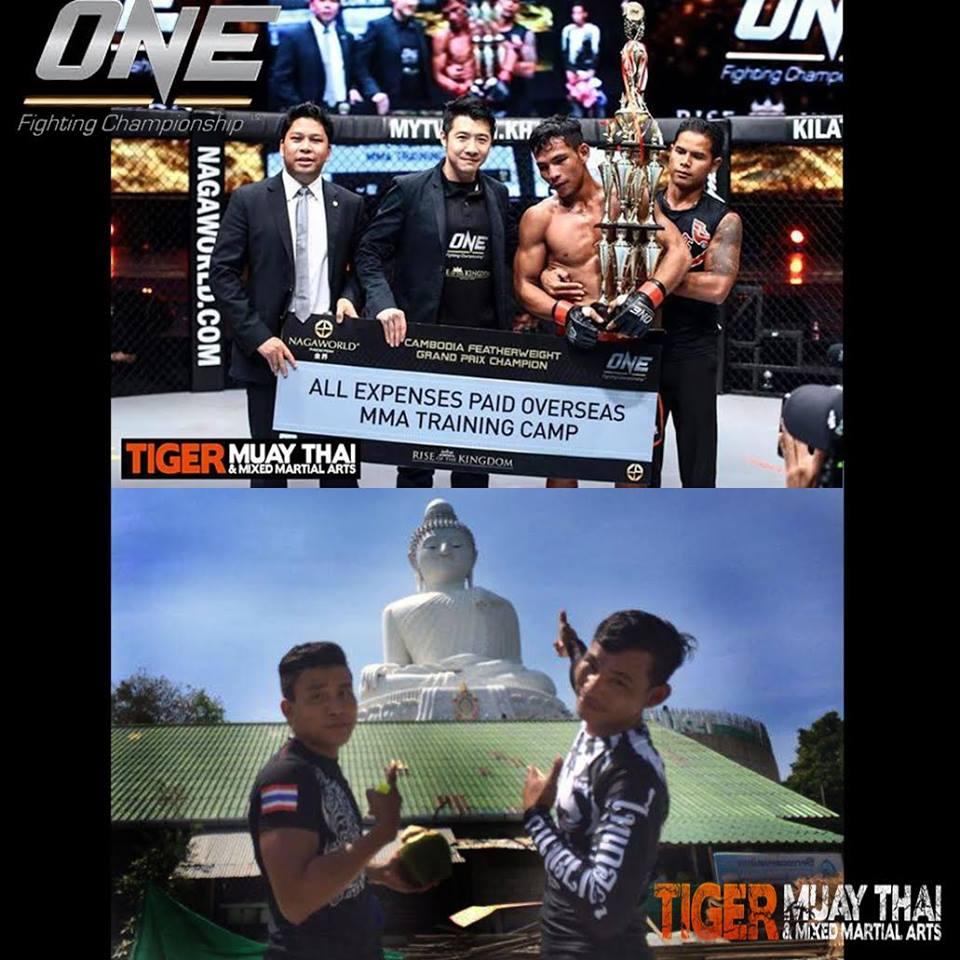Tiger Muay Thai partners with ONE Championship & Naga World