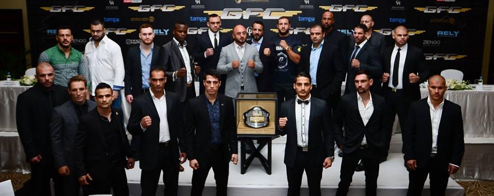 Global Fighting Champtionship Belt