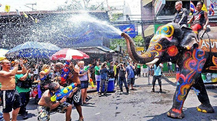 we wish it were songkran every day happy thai new year everyone