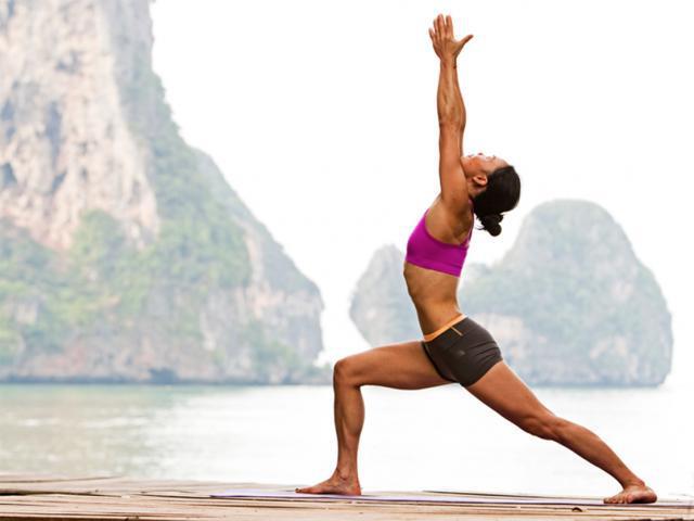 virabhadrasana I (Yoga Warrior I)