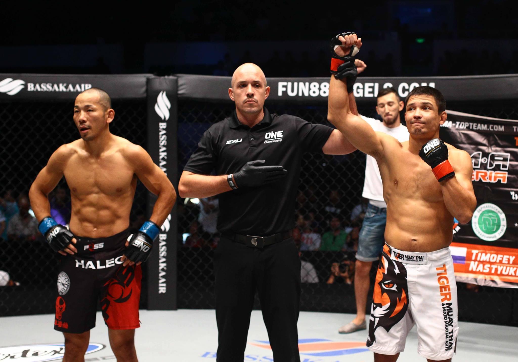 TMT Fighter Timofey Nastyukhin victorious in ONE Championship