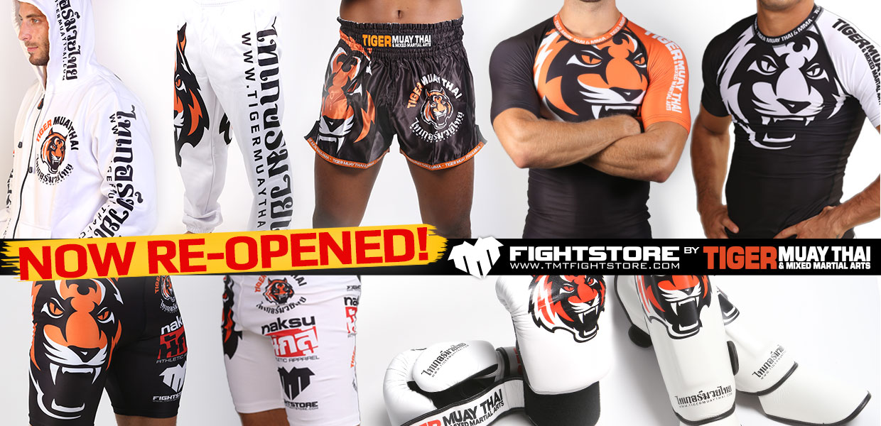 Our Online Store is now re-opened for new orders! - Tiger