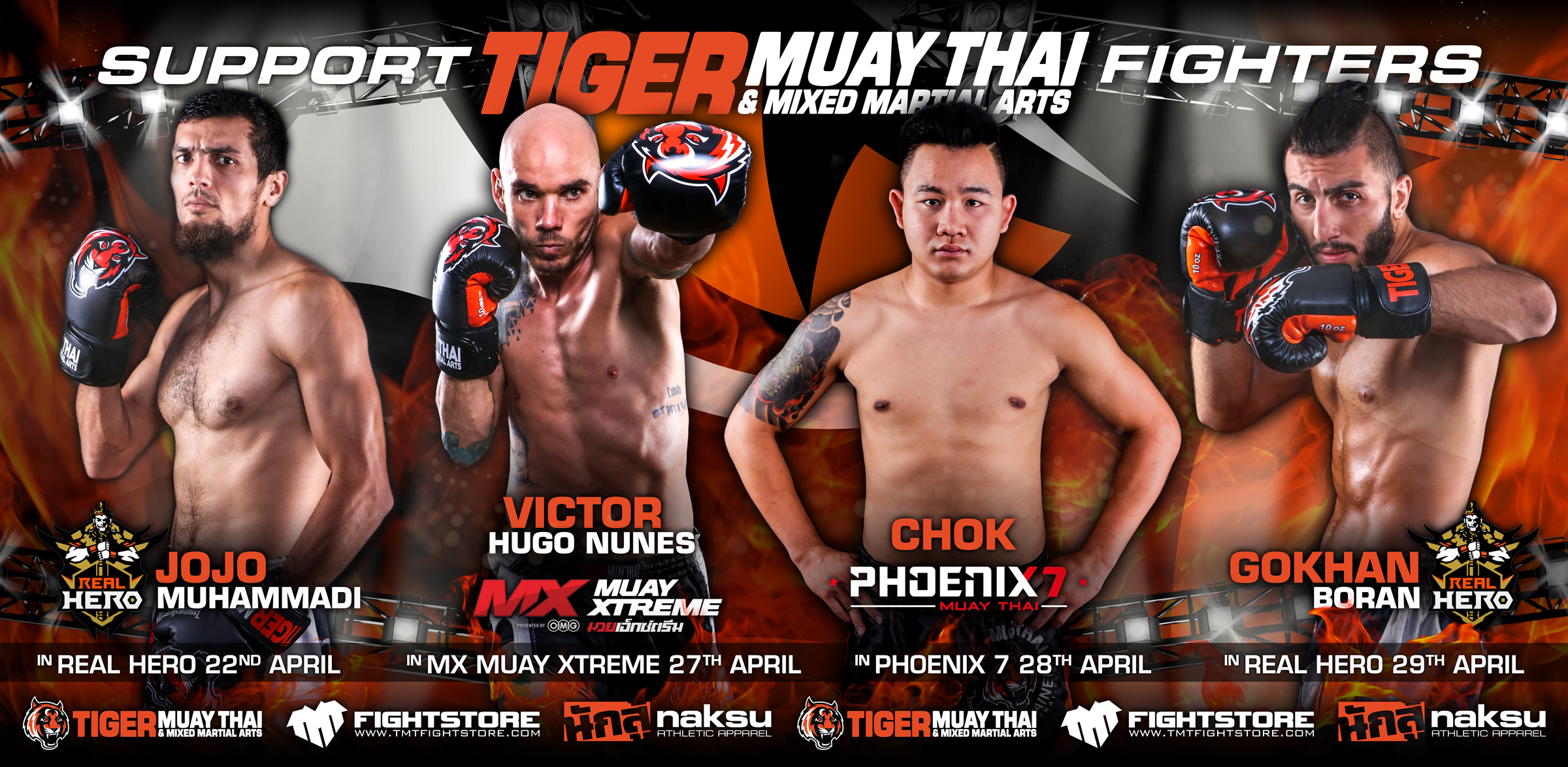 A Big Week ahead for our Muay Thai Fight Team! - Tiger Muay