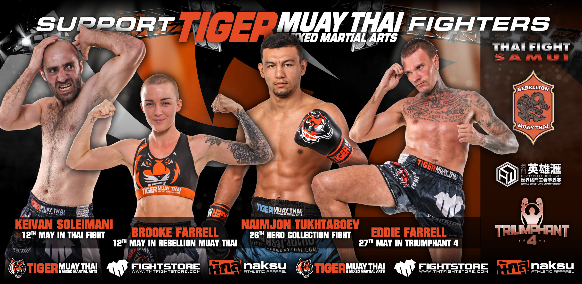 tiger muay thai rezultatele pierderii în greutate