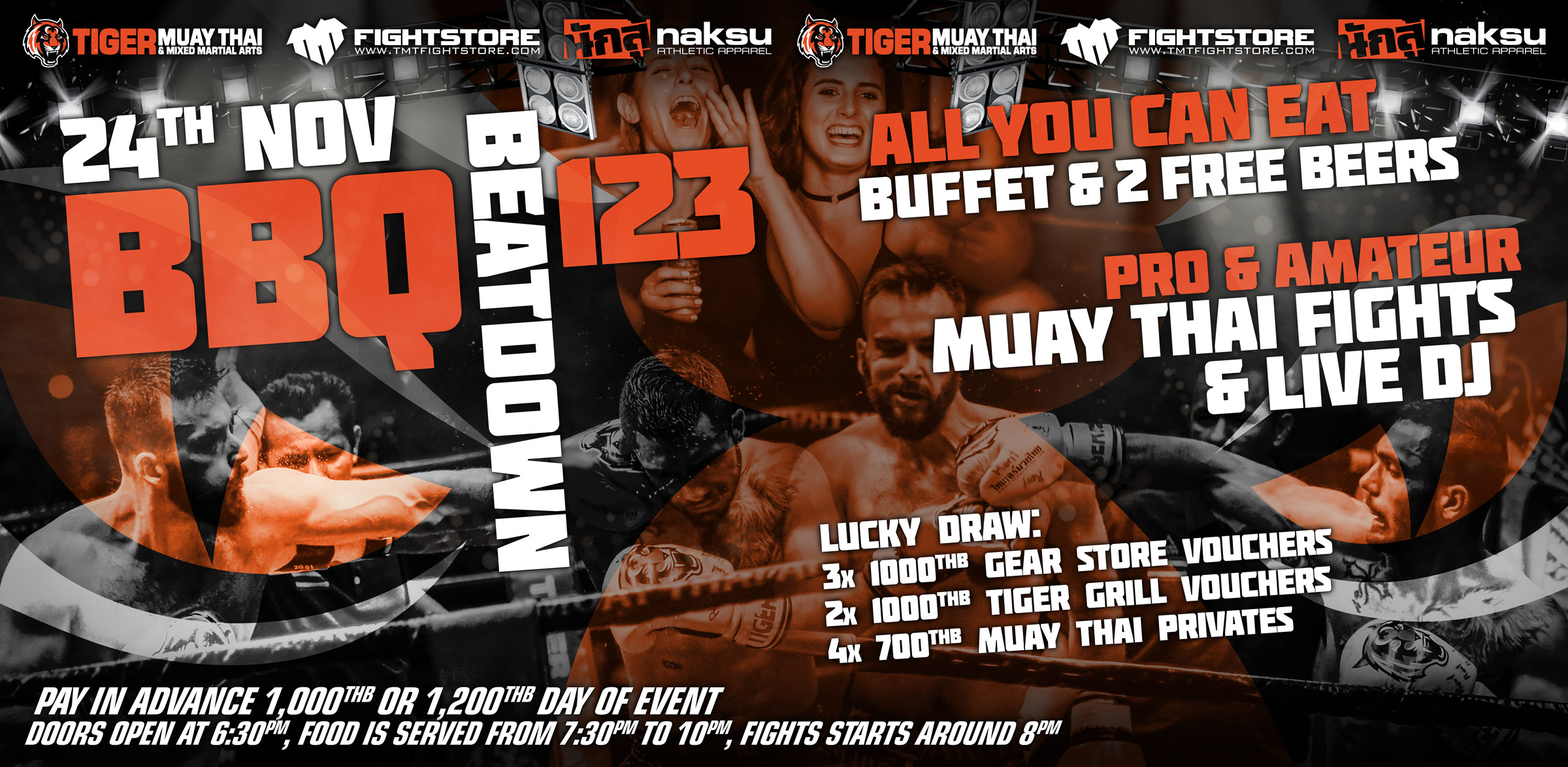 95ea232f3e3 Come and join us this Saturday for our famous monthly BBQ Beatdown event!