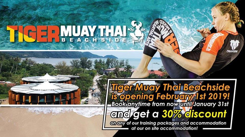 Tiger Muay Thai Beachside, our beautiful 2nd Gym located