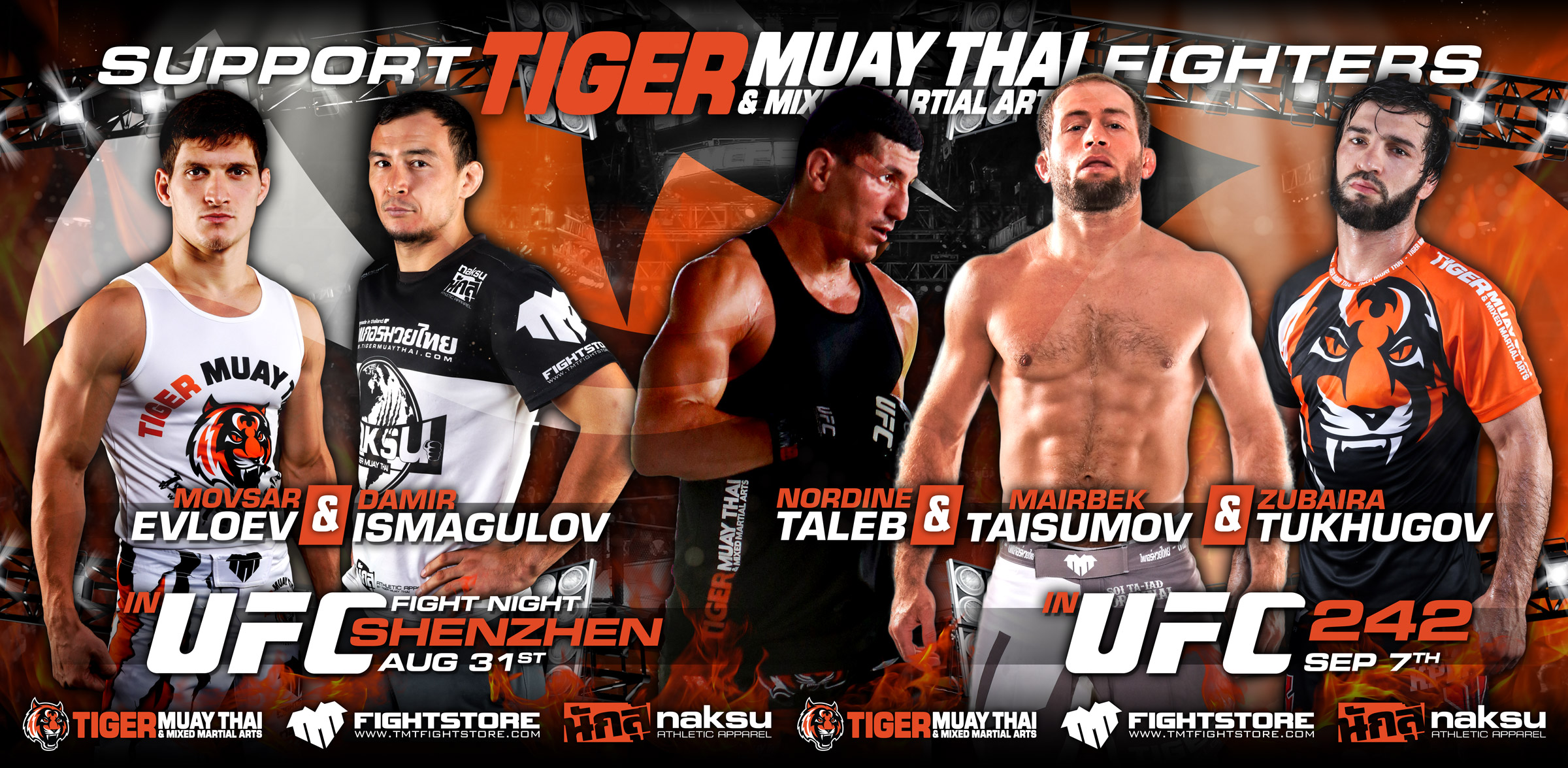 5 big UFC fights over 7 days coming up for the Tiger Muay