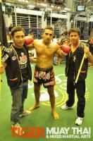 Adnan wins first fight for Tiger Muay Thai