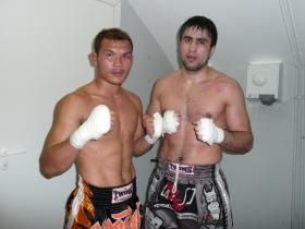 Berneung fights K1 in Russia