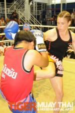 World Muay Thai Champion: Claire Haigh