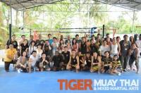 DHL Corporate seminar at Tiger Muay Thai and MMA training camp, Phuket, Thailand