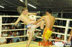Jonny fights in Malaysia