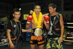 TMT Fighter wins Muay Thai Title