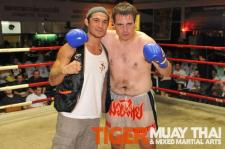 Robin Merill and Roger Huerta