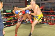 Charlie scores Superman KO for Tiger Muay Thai and MMA