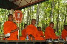 National Muay Thai Day Blessing @ Tiger Muay Thai, Phuket, Thailand