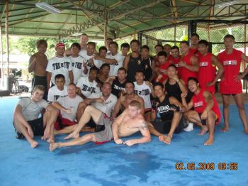Thomas Kenney gives MMA seminar at MMA Phuket