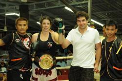 Claire wins WPMO Championship