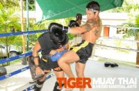 Roger Heurta at Tiger Muay Tha and MMA Training Camp, Phuket, Thailand