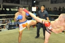 Jimmy lands hard head kick for Tiger Muay Thai, Thailand