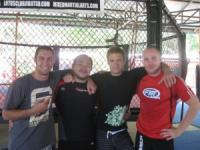 johnny wolf @ Tiger Muay Thai Training Camp, Phuket, Thailand