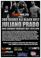 Juliano Prado Brazilian Top Team at Tiger Muay Thai and MMA, Phuket, Thailand