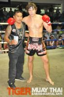Kane wins fight for Tiger Muay Thai, Phuket, Thailand
