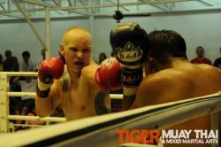 magnus (Sweden) Muay Thai fight