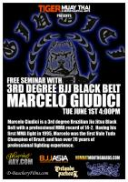 Marcello Guidici BJJ / MMA seminar at Tiger Muay Thai and MMA, Phuket, Thailand