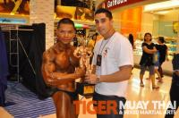 Peter and Adrian with Mr. Thailand trophy
