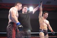 Rizzuto wins MMA fight