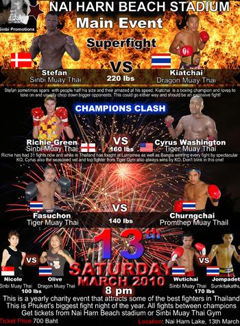 Nai Harn Muay Thai Fights