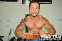 Thai Hulk prepares for Mr. Thailand 2010 @ Tiger Muay Thai, Thailand