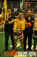 Ritt (Tiger Muay Thai) wins 8-man tournament with 3 1st round KO's.