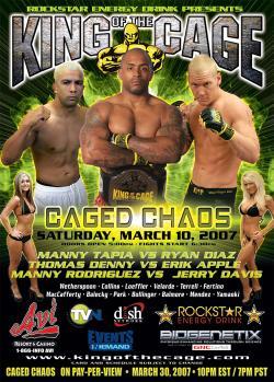 King of Cage World Champion Ryan Diaz