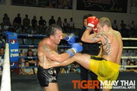 First Muay Thai fight in Thailand