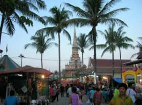 Wat Chalong Festival and Fait, Phuket, Thailand